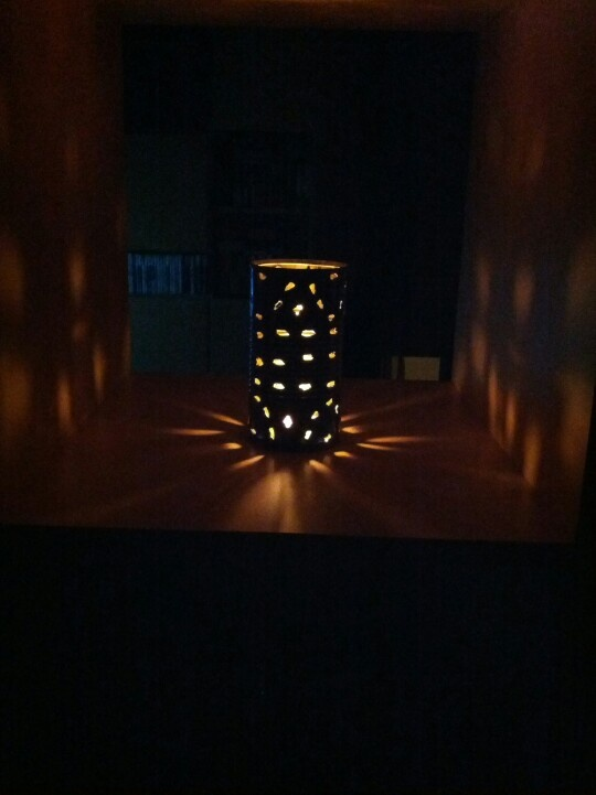 Light in the can by Patrizia Zardi