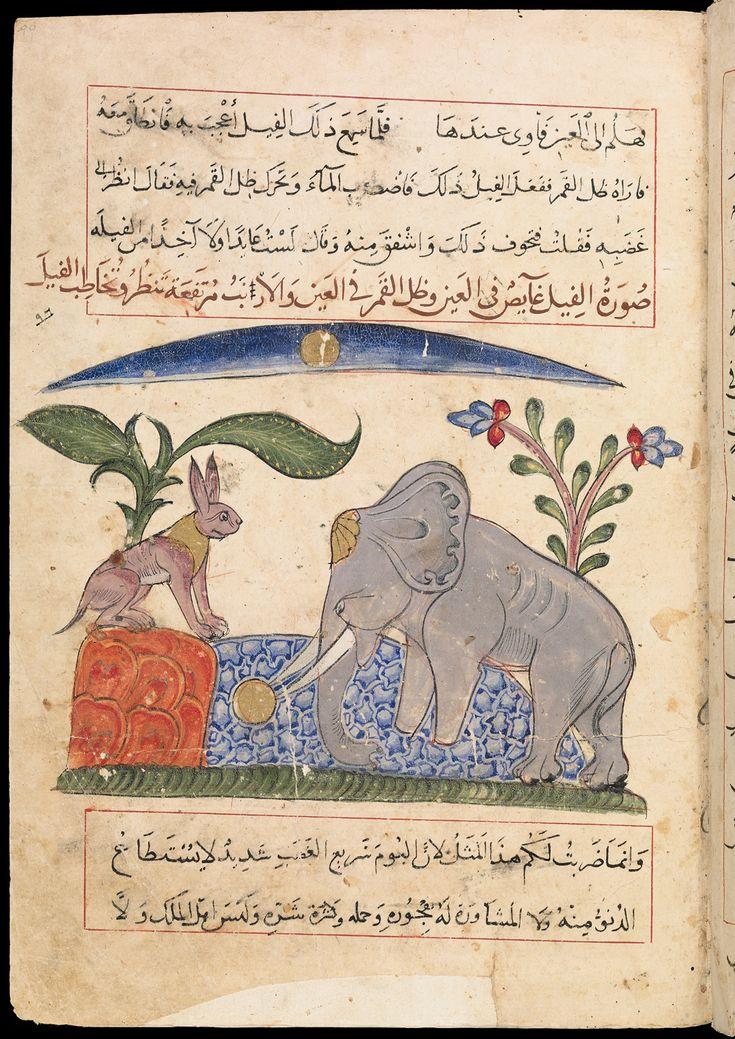KALILA AND DIMNA, IN ARABIC   Crossing Borders