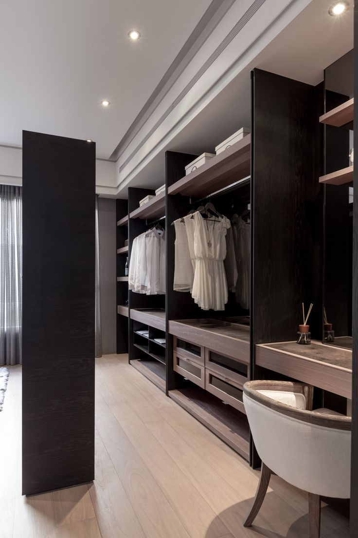 Master Walk In Closet Overall Style And Vanity