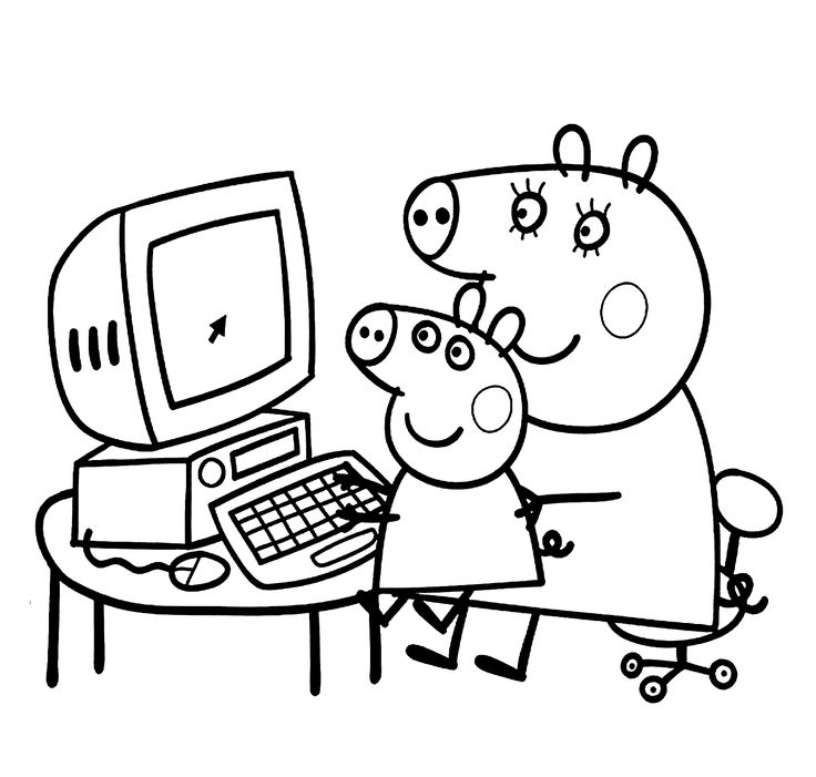 http://colorings.co/coloring-pages-for-girls-papa-pig/ #Coloring, #Girls, #Pages, #Papa, #Pig