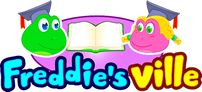English Lessons for Kindergarten, 1st Grade, for ESL, EFL Learners | Freddie's Ville