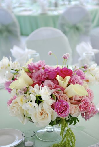 centros florales para las mesas