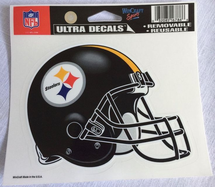 567e3357 Pittsburgh Steelers Football WinCraft Sports Ultra Decals Removable ...