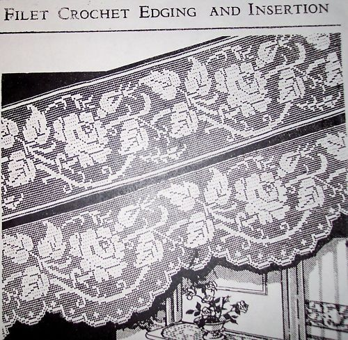 397 Best Bordure Au Crochet Images On Pinterest Crochet Edgings