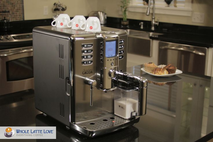 Coffee on demand has never been easier. With the Gaggia Accademia, seven dedicated drink buttons for espresso, caffe, caffe lungo, cappuccino, latte macchiato, and hot water mean that great tasting beverages are just moments away. The machine can also memorize your preferences for truly customized drinks.