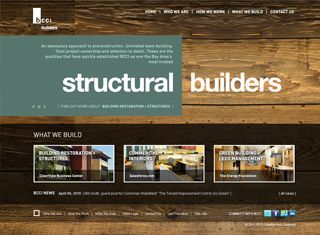 best contractor web design examples contractor web design design