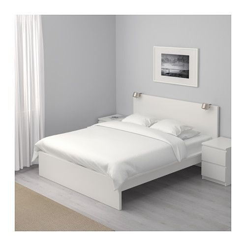 Best 25 malm bed frame ideas on pinterest ikea malm bed ikea full bed frame and ikea beds - Divine bedroom decoration using ikea malm full size bed frame ...