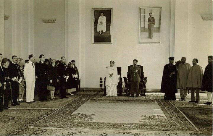 King Selassie & Empress Menen