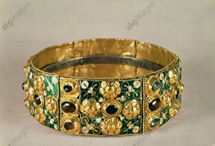 Iron Crown of Lombardy, Italy, c8-9th century