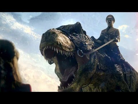 Just when you though Nazis on the Moon was the beginning lol. Iron Sky: The Coming Race Teaser TRAILER (2015) Nazis Dinosaurs Movie HD