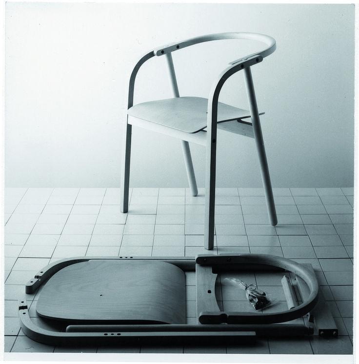 Modello La Otto – 1980, realizzazione del progetto di Mario Cabas. Compasso d'Oro 1981