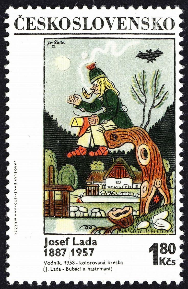 Lada's postage stamp