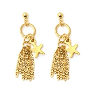 Seabreeze Earrings in Gold - available in gold and silver.$24.00 Get 25% off these earrings with coupon code 'foxy pin' www.foxyoriginals... #earrings, #goldjewelry, #goldearrings, #foxyoriginals, #sistergift, #statement, #jewelrygift, #gift, #holidaygift, #summer, #vacation, #beachystyle, #accessories, #teenagergift