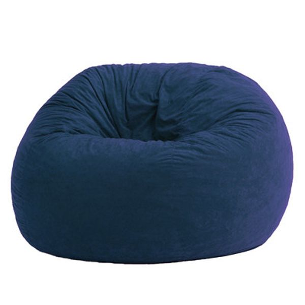 Make Great A Dark Blue Bean Bag