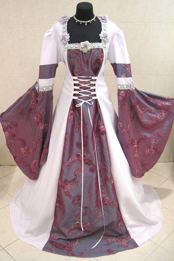 HALLOWEEN kleding 22-24-26 2XL-3XL-4XL middeleeuwse gotische