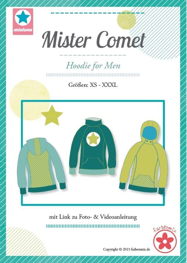 Mister Comet, Papierschnittmuster - farbenmix Online-Shop - Schnittmuster, Anleitungen zum Nähen