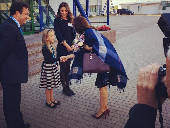 Crown Princess Mary at WHO Regional Committee meeting in Vilnius, Lithuania, September 14, 2015