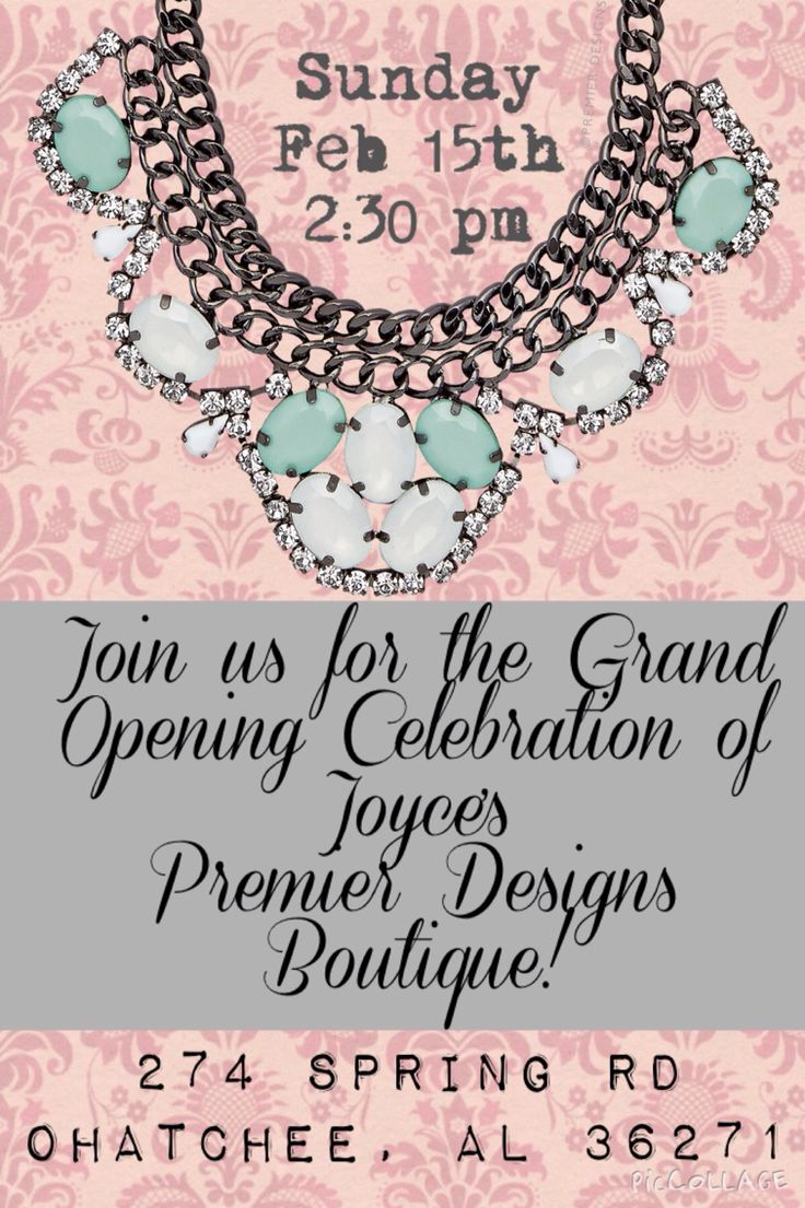 17 best images about jewelry show invitations on pinterest for Premier designs invitations