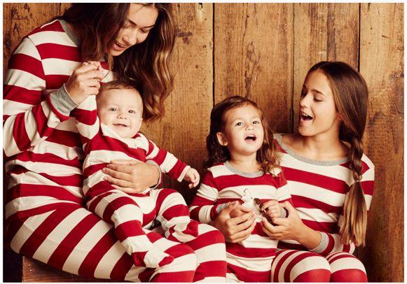 Holiday Matching Family Pajamas >> Burt's Bees Family Striped Pajamas (as seen on Oprah's Favorite Things List 2015