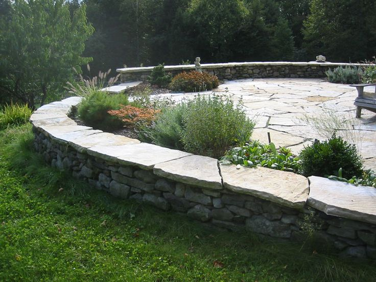 Superior Retaining Wall Ideas | Substance Of Living: Patio Retaining Wall Ideas