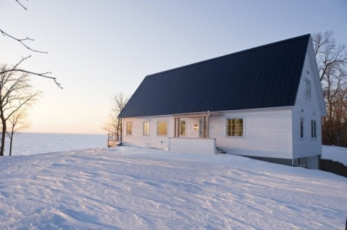 looks so peaceful and quiet: Modern Farmhouse, Lakes Houses, Winter Cabins, Andrea Swan, Swan Fish, Fish Camps, A Frames, Photo, Swan Architecture