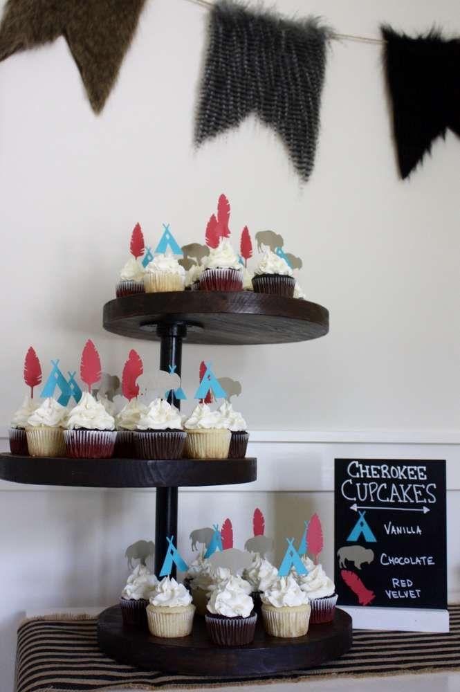 Brave 1st Birthday Pow-Wow! | CatchMyParty.com