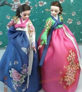 한국 전통 인형Korea Hanbok Doll