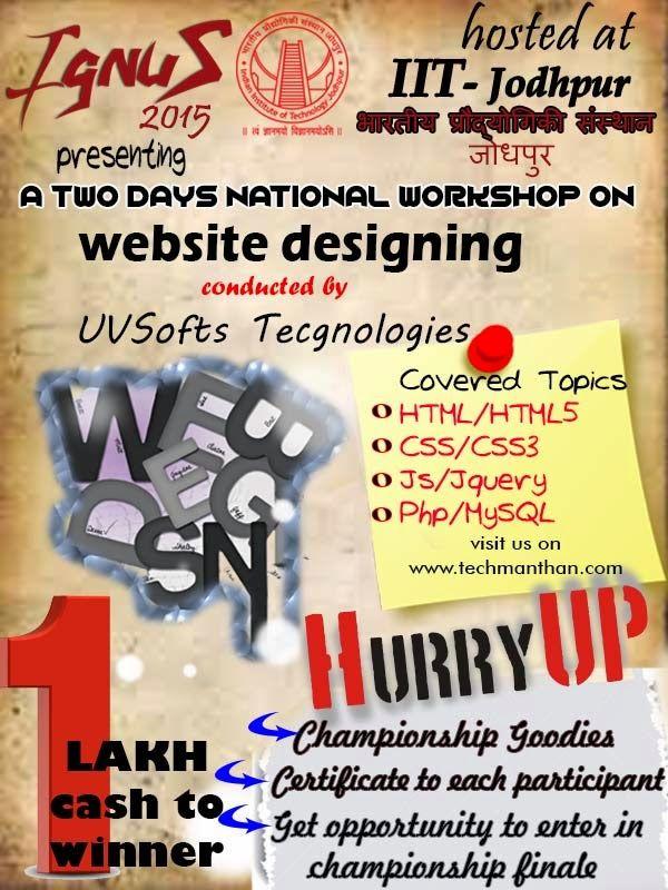 UVSofts Technologies: A National Level Techno WEB4.01 Workshop Seriesc...