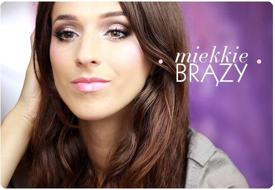 Alina Rose Makeup Blog: Miękkie brązy czyli makijaż dla początkujących z paroma radami:)