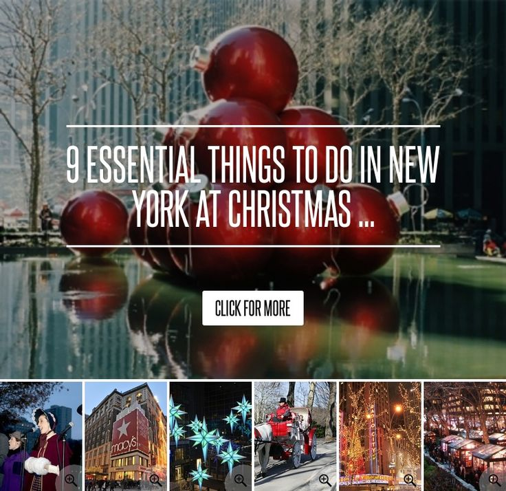 new york places to visit at christmas