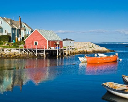 Nova Scotia...more than just a place I want to go. It made the Bucket List.