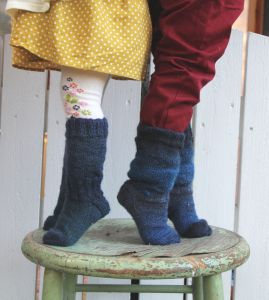 Pipo&mitten villasukat ~ woolly socks