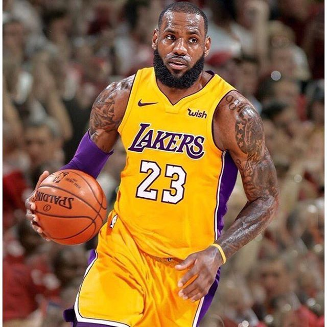LeBron James will wear No. 23 with Lakers LLTK23