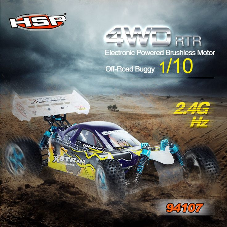 Here is the best ever 4wd buggy HSP 94107 94107 Rc Car ElectricPower 4wd Off-Road Buggy car. One of the most impressive RC car on the market.