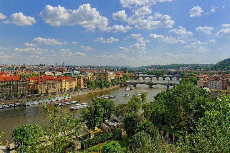 Prague : View from Letná Park  2/2