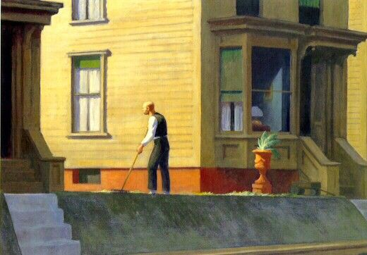 Pennsylvania coal town Edward Hopper, 1947 Huile sur toile, 71,1 × 101,6 Youngstown, Ohio, The Butler institute of American art
