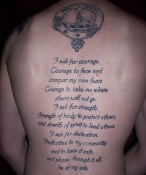Tattoo Quotes Happiness: 17 Best God Quotes Tattoos On Pinterest