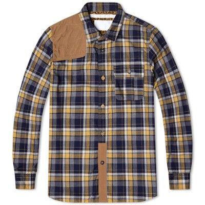 White Mountaineering Hunting Shirt (Yellow)