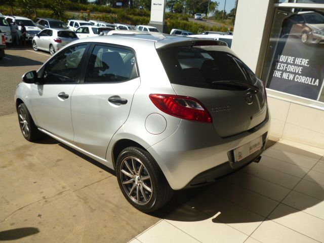 Choose the Front-Runner, 2011 #Mazda2 1.3 Active 5 Door #Hatchback. Silver, 1.3 Petrol Engine, Manual Transmission. Mileage of Only 33 000Kms ,get this Deal Now for R135 990. Wonderful Extras for You: *ABS *Airbag - Driver & Passenger *Airbag - On/Off Switch *CD Front Loader *Central Locking Key *Cloth Trim *MP3 Player *Radio/CD *Rear Window De-mister *Rain Sensor W/screen Wipers *Balance of Motor Plan Want this, Contact Keith Rabilal Now on 082 323 1303 / 031 737 1500 or Email…
