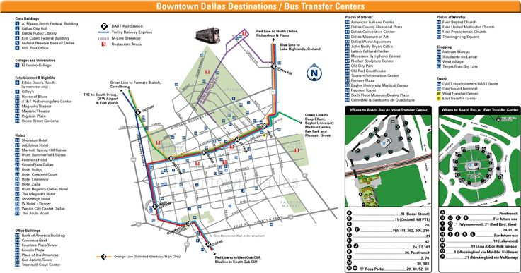 Downtown Dallas Map and Guide   bbc victoria bc downtown weather forecast 15 days