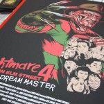 Spooky Empire + Freddy Krueger Hand Printed Posters