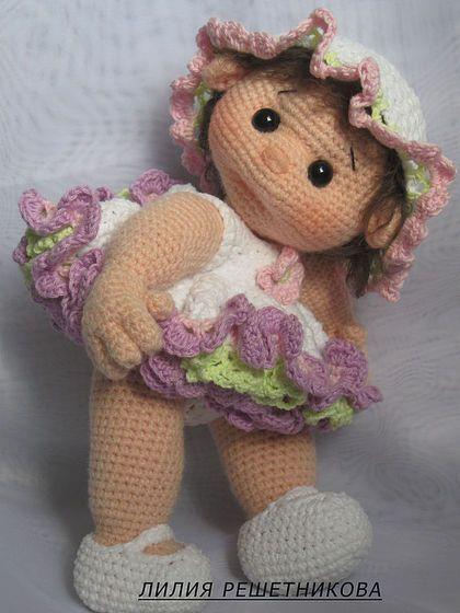 Человечки ручной работы. Ярмарка Мастеров - ручная работа Кукла Полинка. Handmade.:
