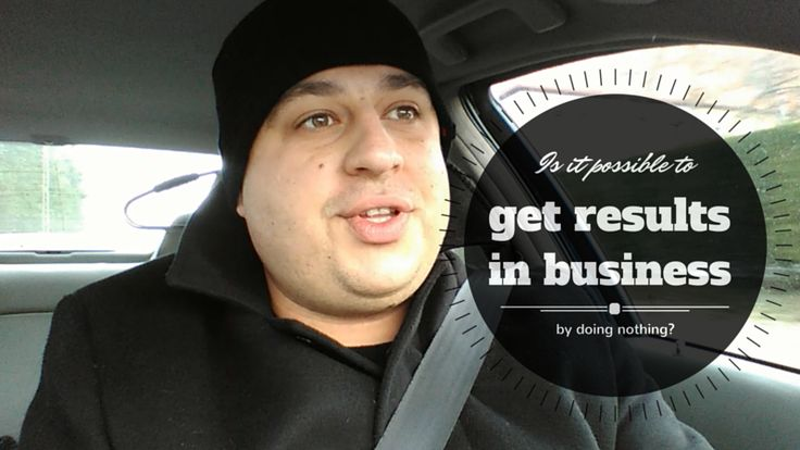 Is it possible to get results in #business by ... doing nothing? Here's the answer: http://brandonline.michaelkidzinski.ws/is-it-possible-to-get-results-in-business-by-doing-nothing/ #homebasedbusiness