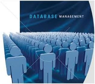 Database management can be thought of as having two major components – a knowledge design and a program for applying that design.