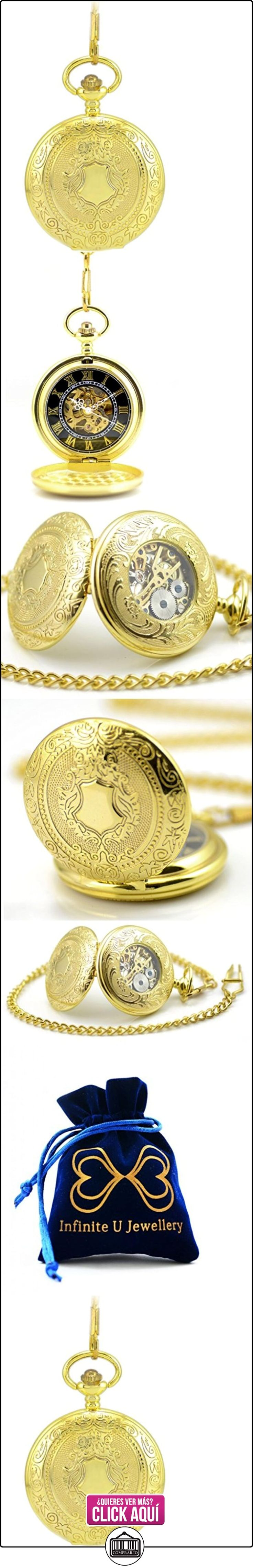 Infinite U Esqueleto Hueco Vintage Retro Colgante Collar Cuerda Manual Reloj de Bolsillo Mecánico -Color Dorado  ✿ Joyas para mujer - Las mejores ofertas ✿ ▬► Ver oferta: https://comprar.io/goto/B00OMSYGBK