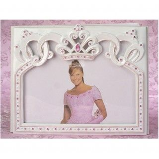 Princess Pink And White Guestbook And Cake Server