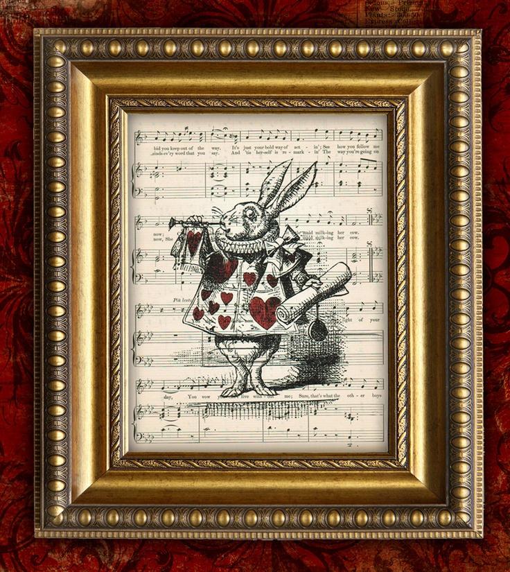 Vintage Alice In Wonderland Decor