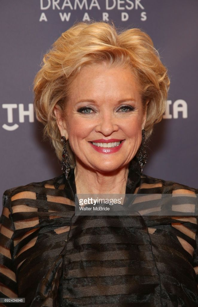 Christine Ebersole attends the 2017 Drama Desk Awards at Town Hall on June 4, 2017 in New York City.