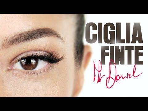 Ciglia Finte: Applicazione a Ciuffetto e a Nastro | MrDanielmakeup - YouTube