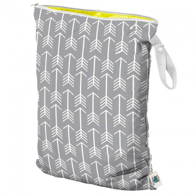 Planet Wise Large Wet Bag holds a whole day's worth of diapers or swimsuits, $19.
